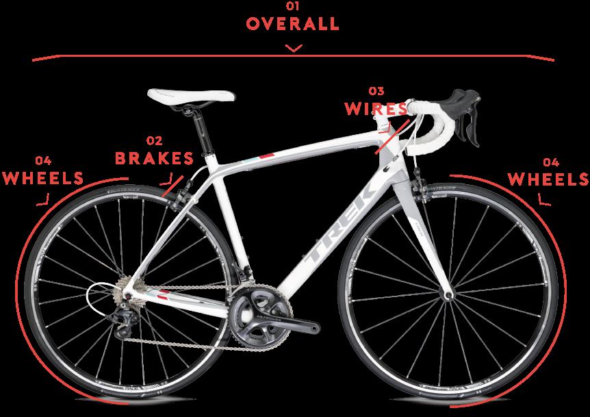 当店の自転車は「Made in スクアドラ」として、より精度と堅実性を向上させています。